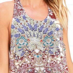 Lulu's Dresses - Mosaic Maxi dress